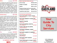 city services brochure